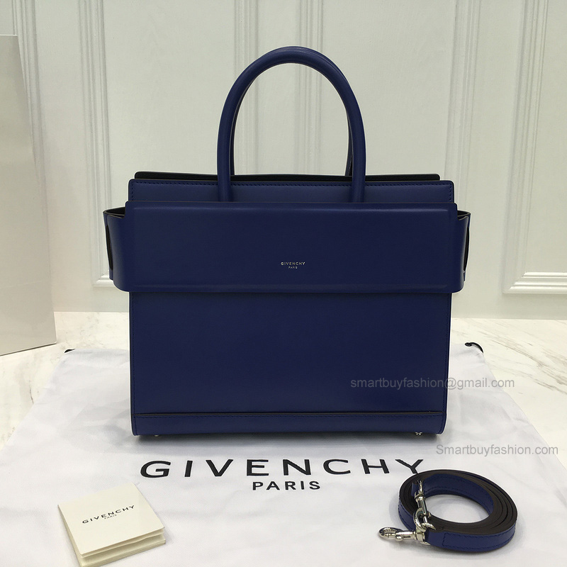 5c70c927753f Replica Givenchy Horizon Small Bag in Electric Blue Smooth Calfskin