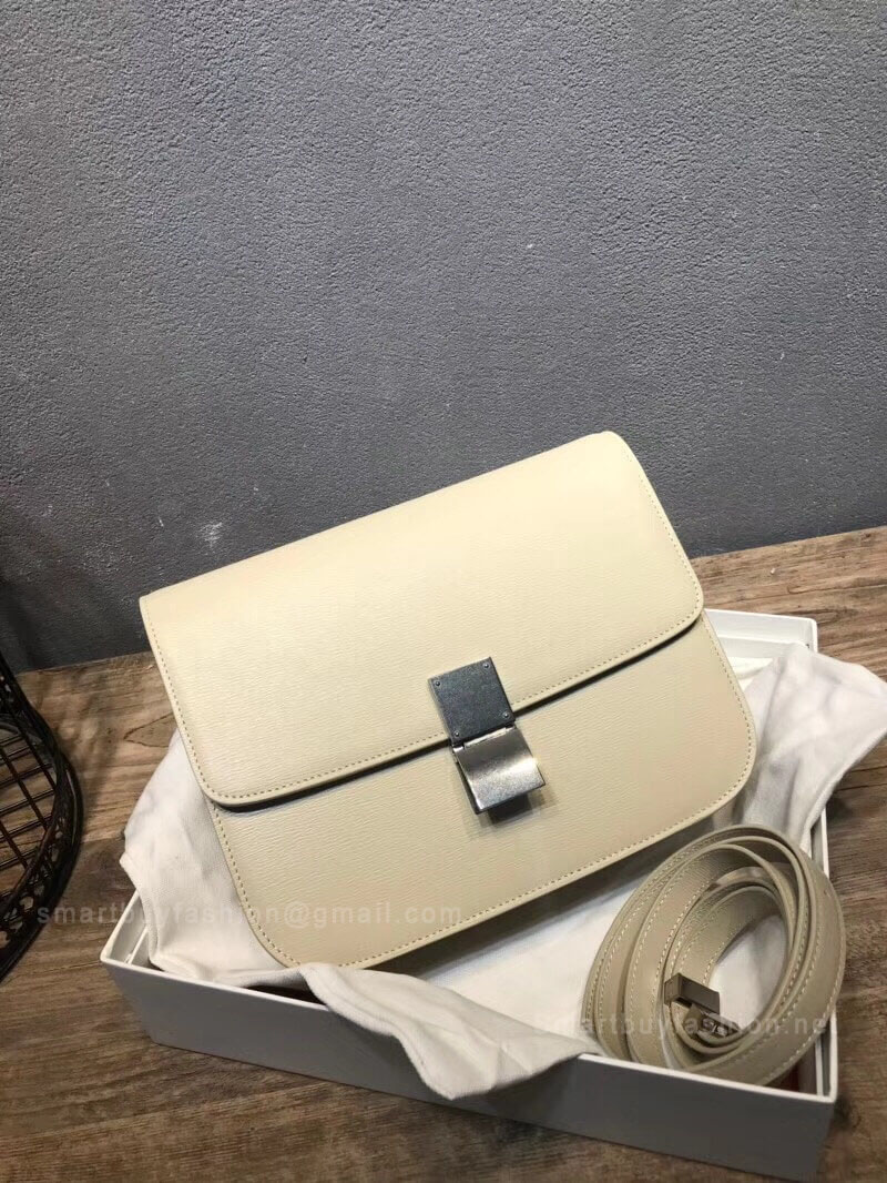 08b5de8b0e9d ... Celine Classic Box Bag Medium in Off White Liege Calfskin reputable  site a5bae eae4a ...
